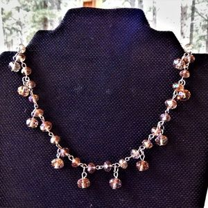 Sweet Bead on Chain Necklace